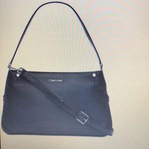 Calvin Klein Leather Jackson Crossbody Bag